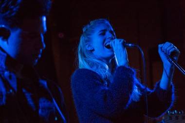 London Grammar at Fortune Sound Club, Vancouver, Oct 1 2013. Kirk Chantraine photos.