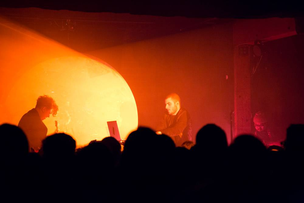 Darkside at Fortune Sound Club Jan 21. Kirk Chantraine photo.