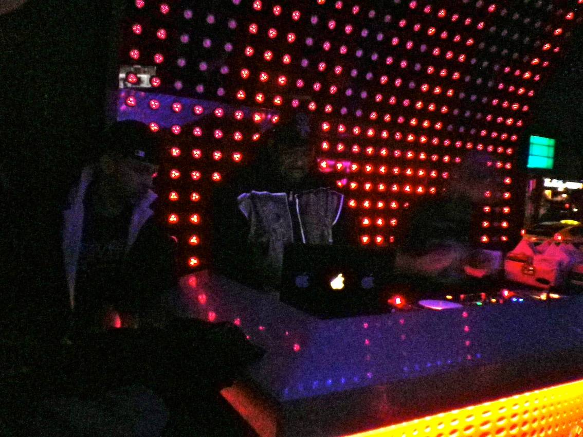 Afrika Bambaataa at LED Bar