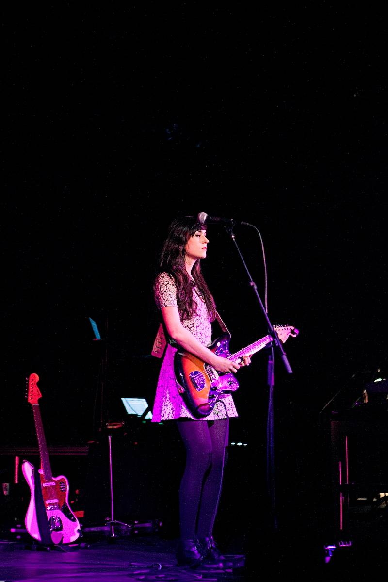 Noveller with St. Vincent at the Commodore Ballroom Vancouver