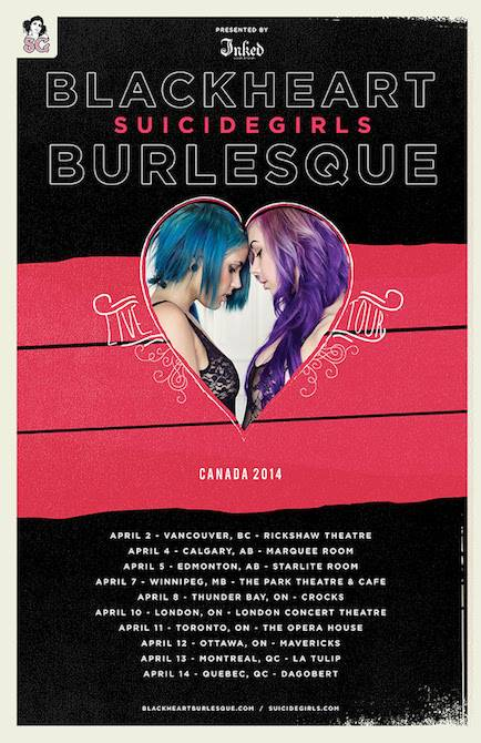 SuicideGirls burlesque in Vancouver