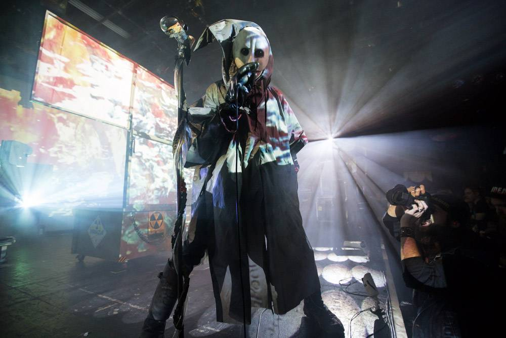 Skinny Puppy at the Commodore Ballroom, Vancouver, Feb. 28 2014. Kirk Chantraine photo.