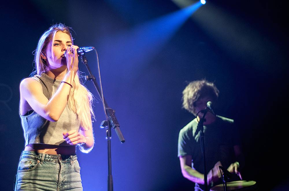 London Grammar at the Commodore Ballroom, Vancouver
