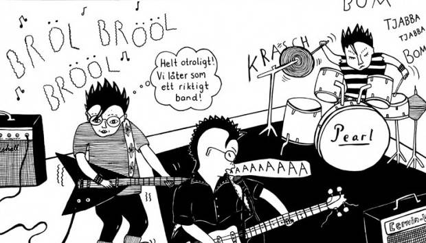 Panel from Coco Moodysson's Aldrig Godnatt