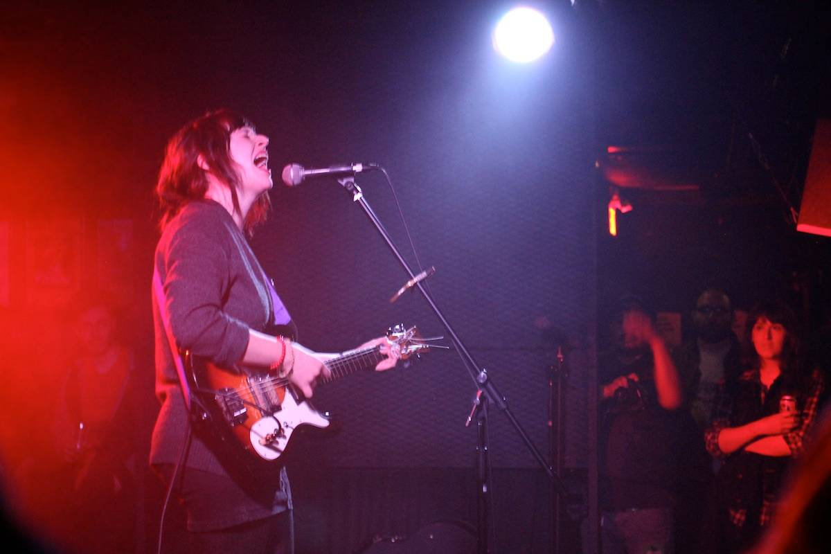 Katie Crutchfield of Waxahatchee at the Biltmore Cabaret, Vancouver