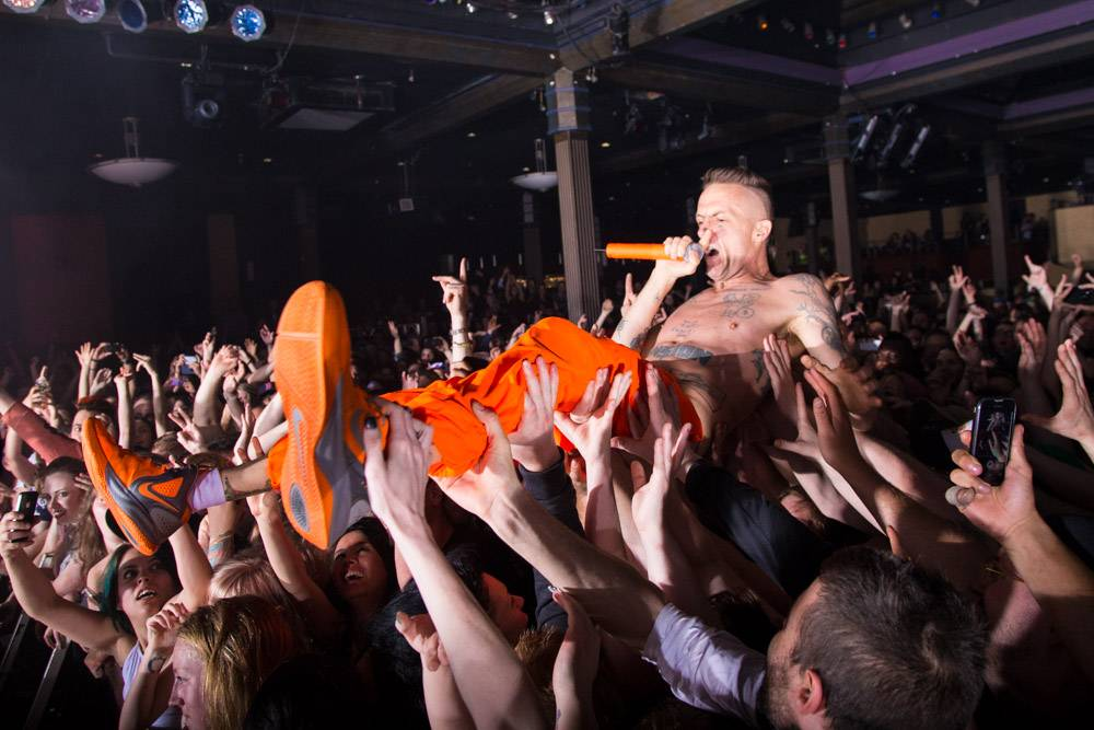 Die Antwoord at the Commodore Ballroom, Vancouver, May 22 2014. Kirk Chantraine photo.