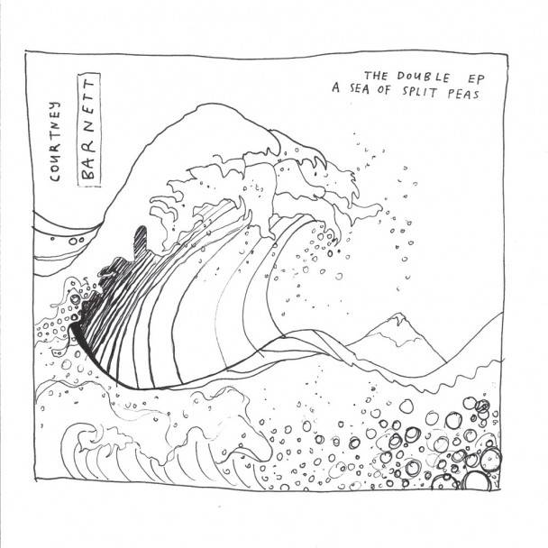 Courtney Barnett The Double EP album cover image