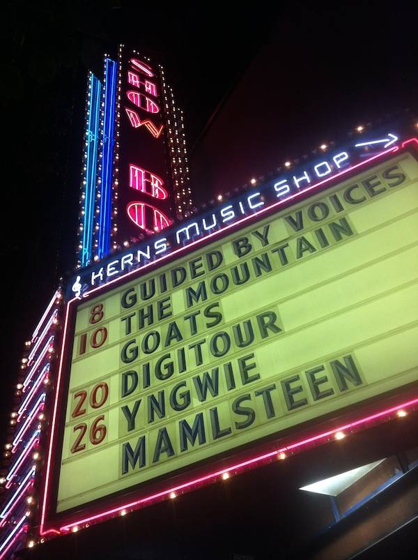 The Showbox Market marquee Seattle
