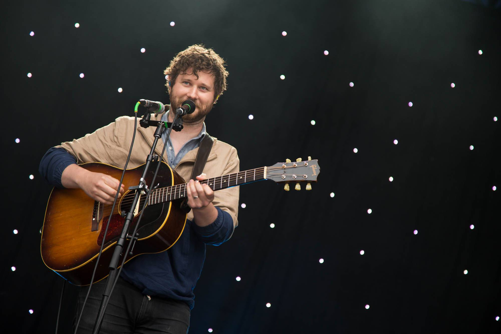 Dan Mangan at CBC Music Festival, Deer Lake Park
