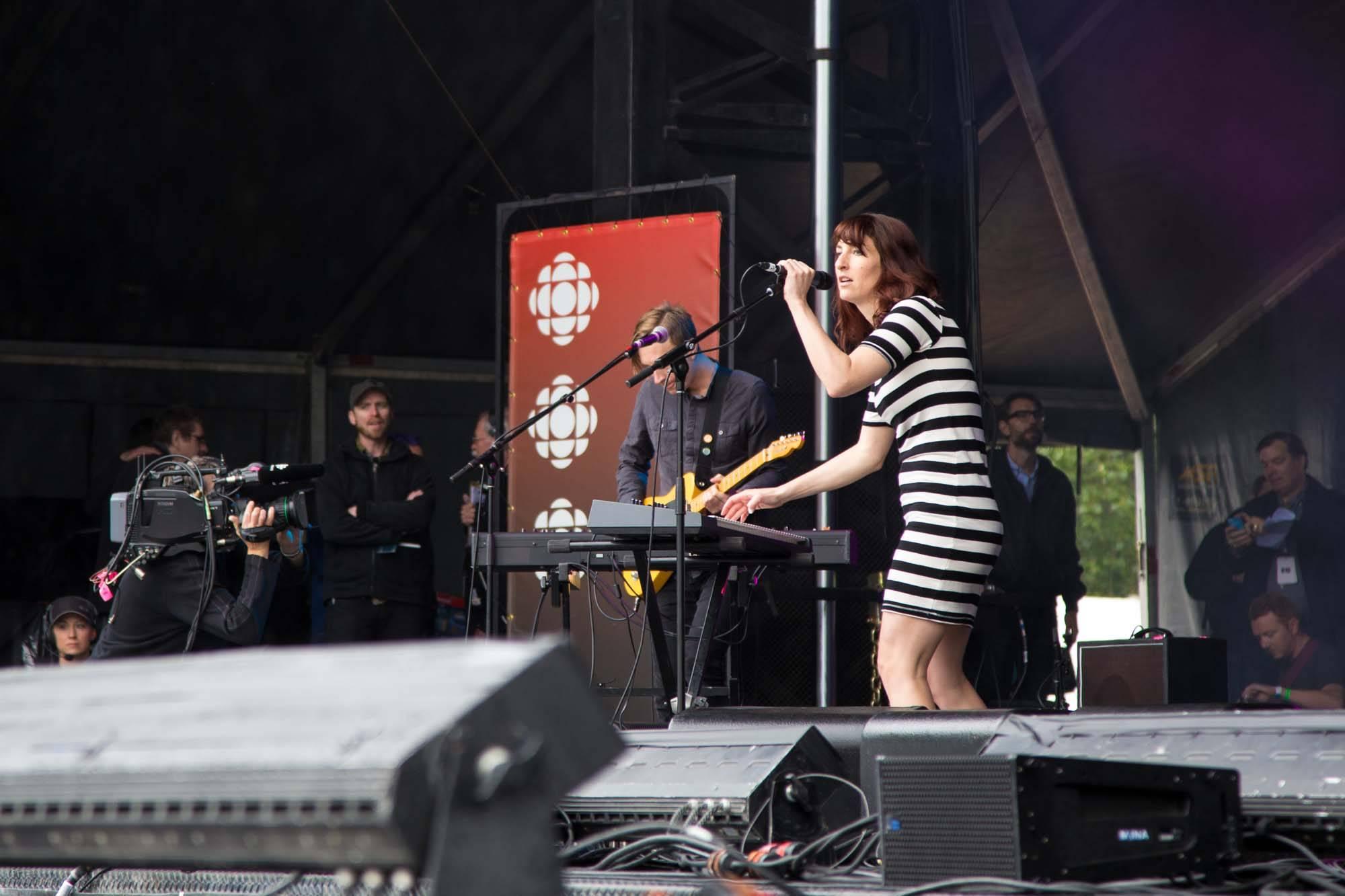 Hannah Georgas at CBC Music Festival June 14 2014