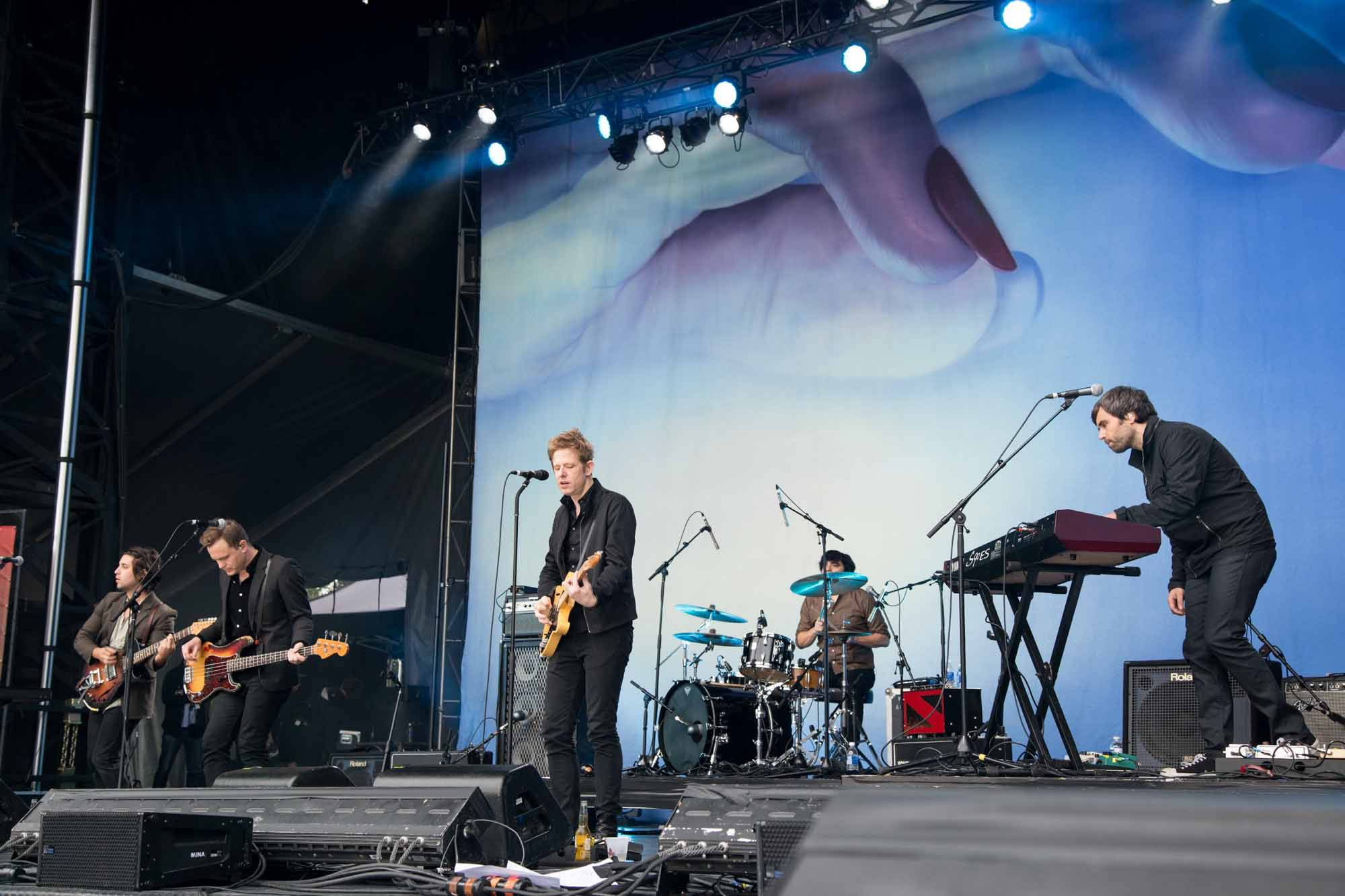 Spoon at Deer Lake Park, CBC Music Festival