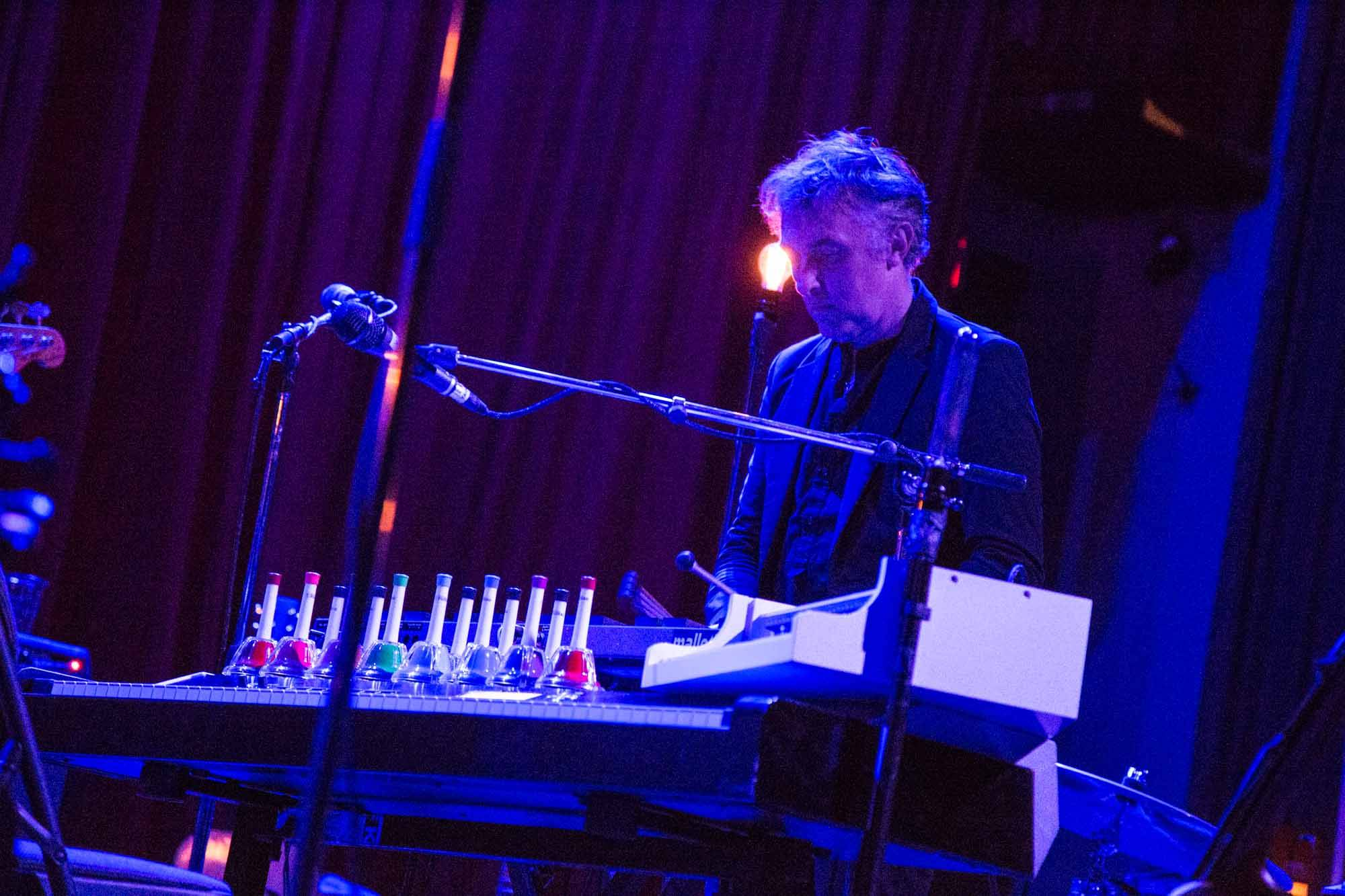 Yann Tiersen at the Rio Theatre, Vancouver, June 13 2014. Kirk Chantraine photo.