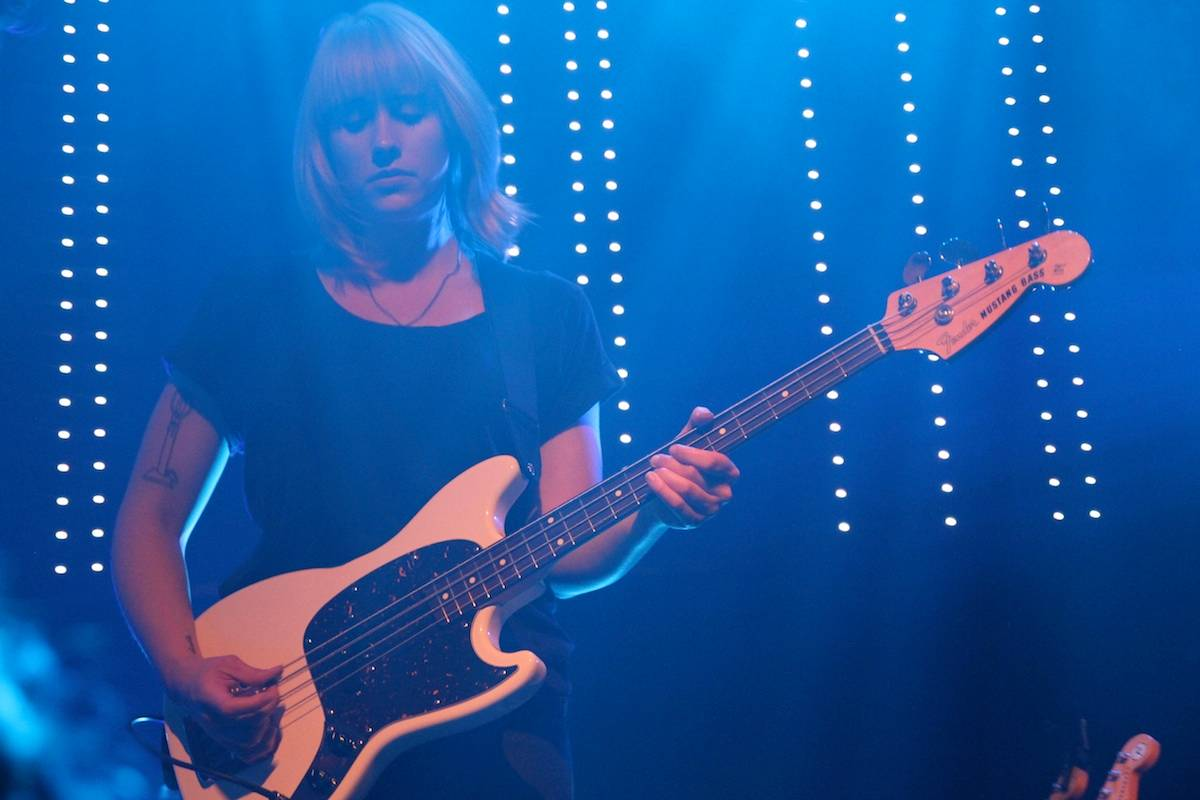 Wye Oak at Venue, Vancouver, July 16 2014. Robyn Hanson photo.