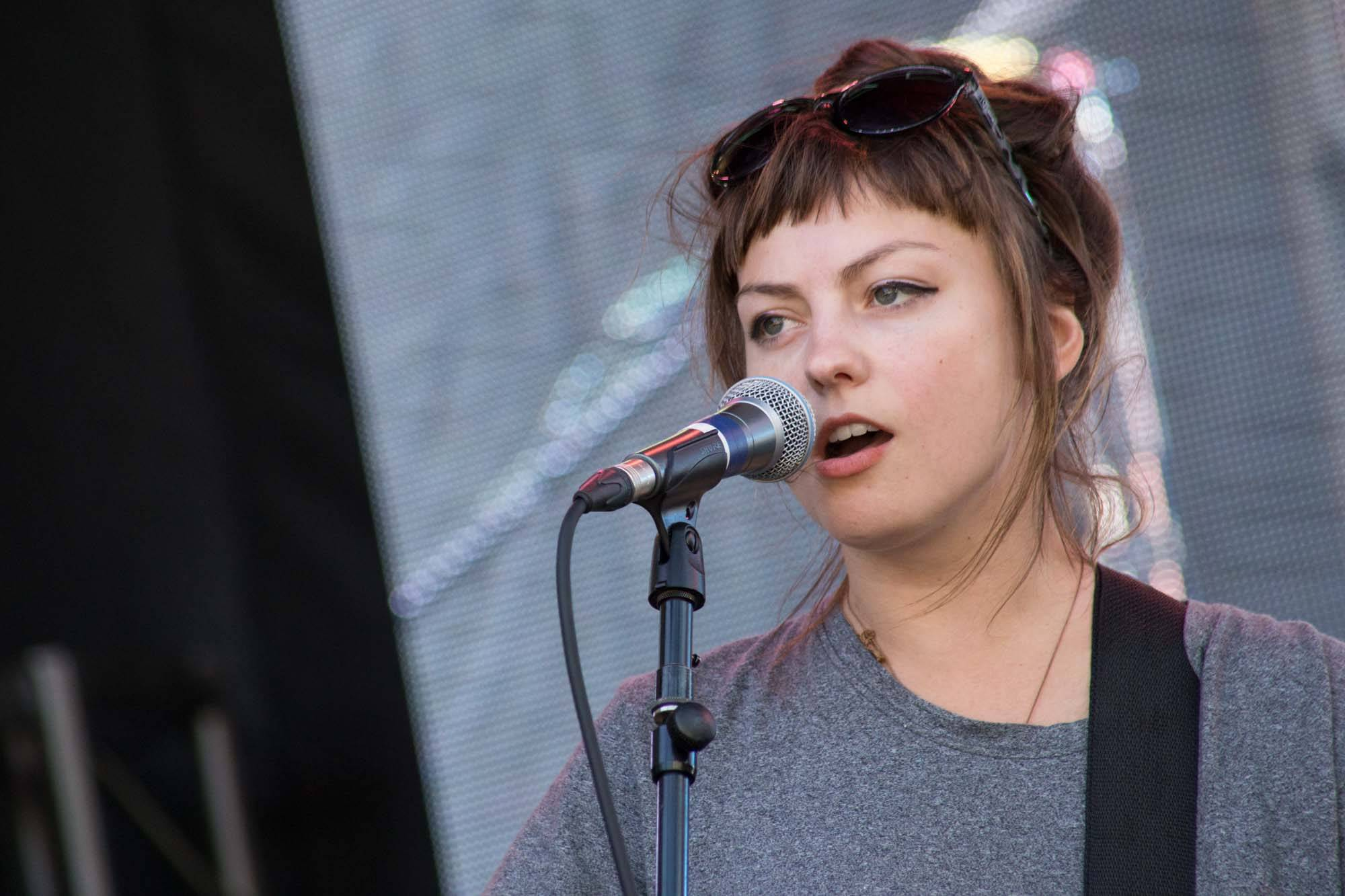 Angel Olsen at the 2014 Capitol Hill Block Party