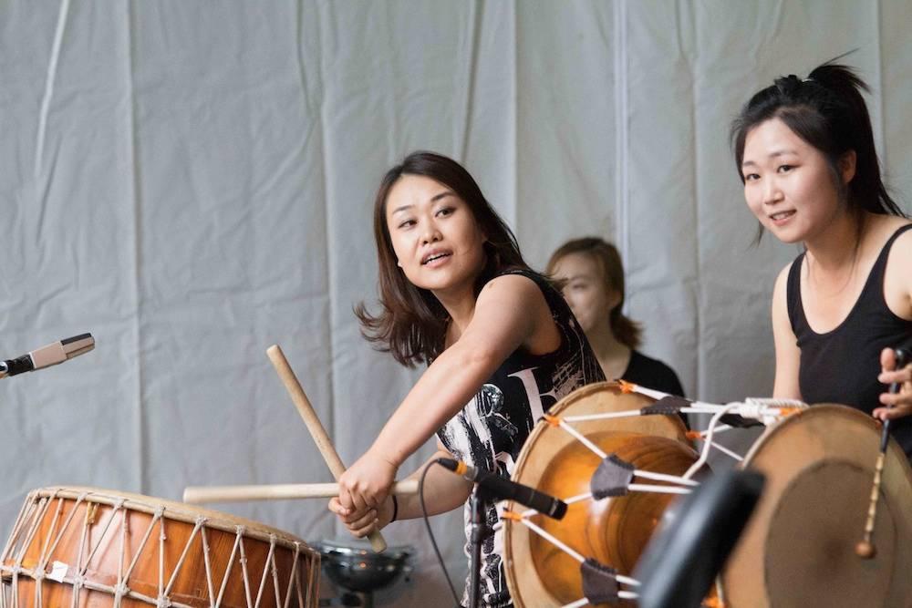 Dulsori at the 2014 Vancouver Folk Music Festival
