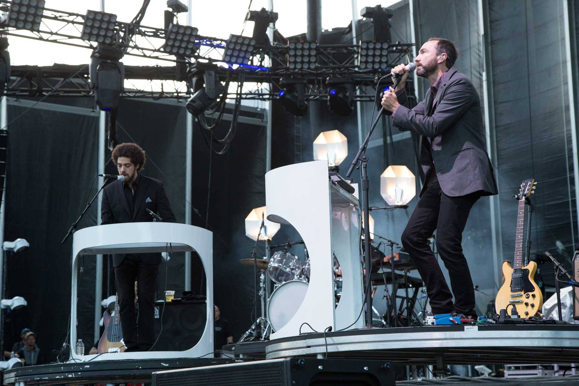 Broken Bells at Squamish Valley Music Festival 2014