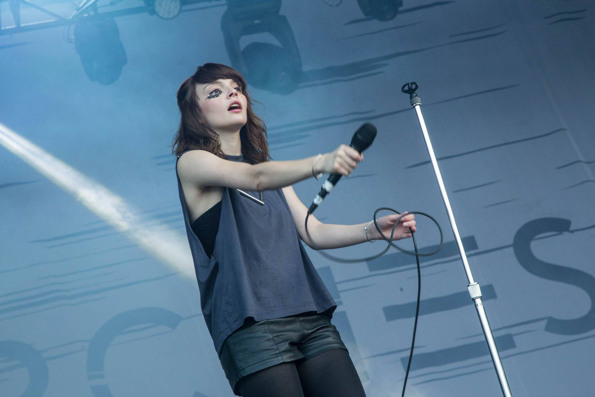 Chvrches at Squamish Valley Music Festival 2014