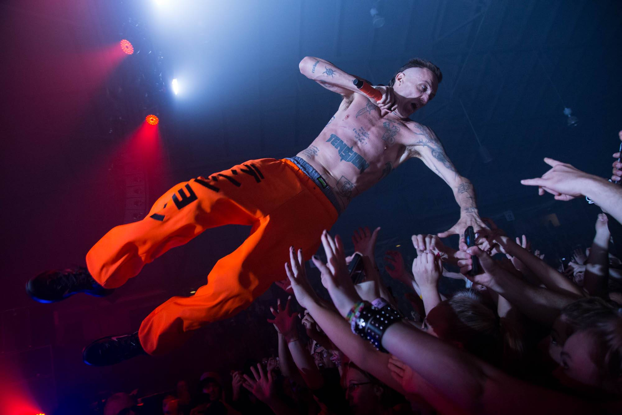Die Antwoord at the PNE Forum, Vancouver, Sept. 23 2014. Kirk Chantraine photo.