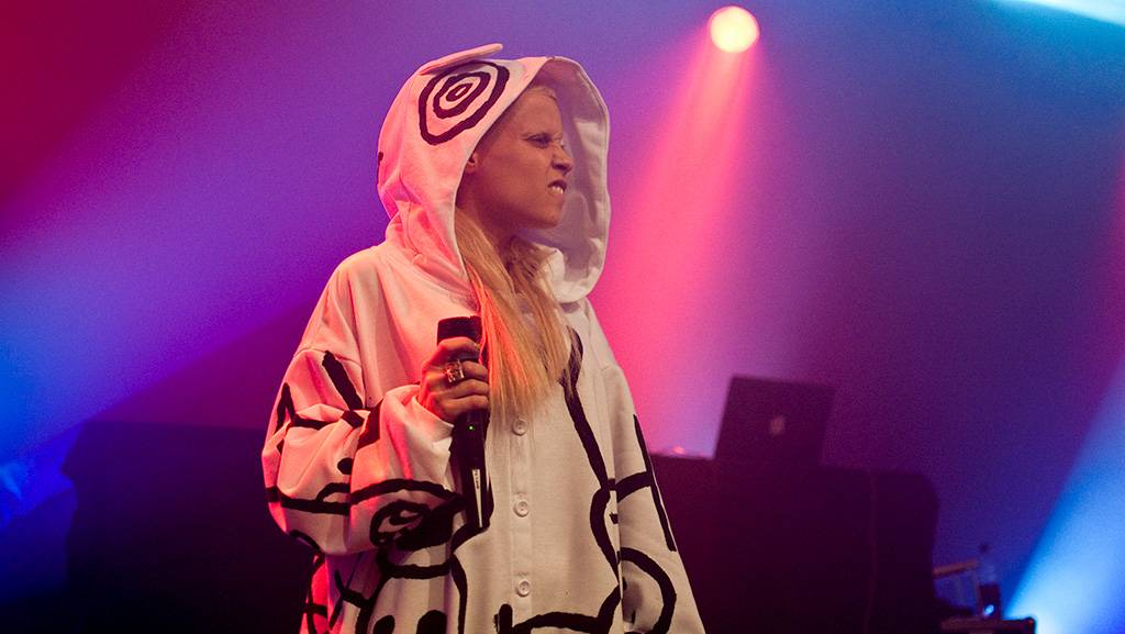 Die Antwoord at the Commodore Ballroom, Oct 12 2010. Ashley Tanasiychuk photo.