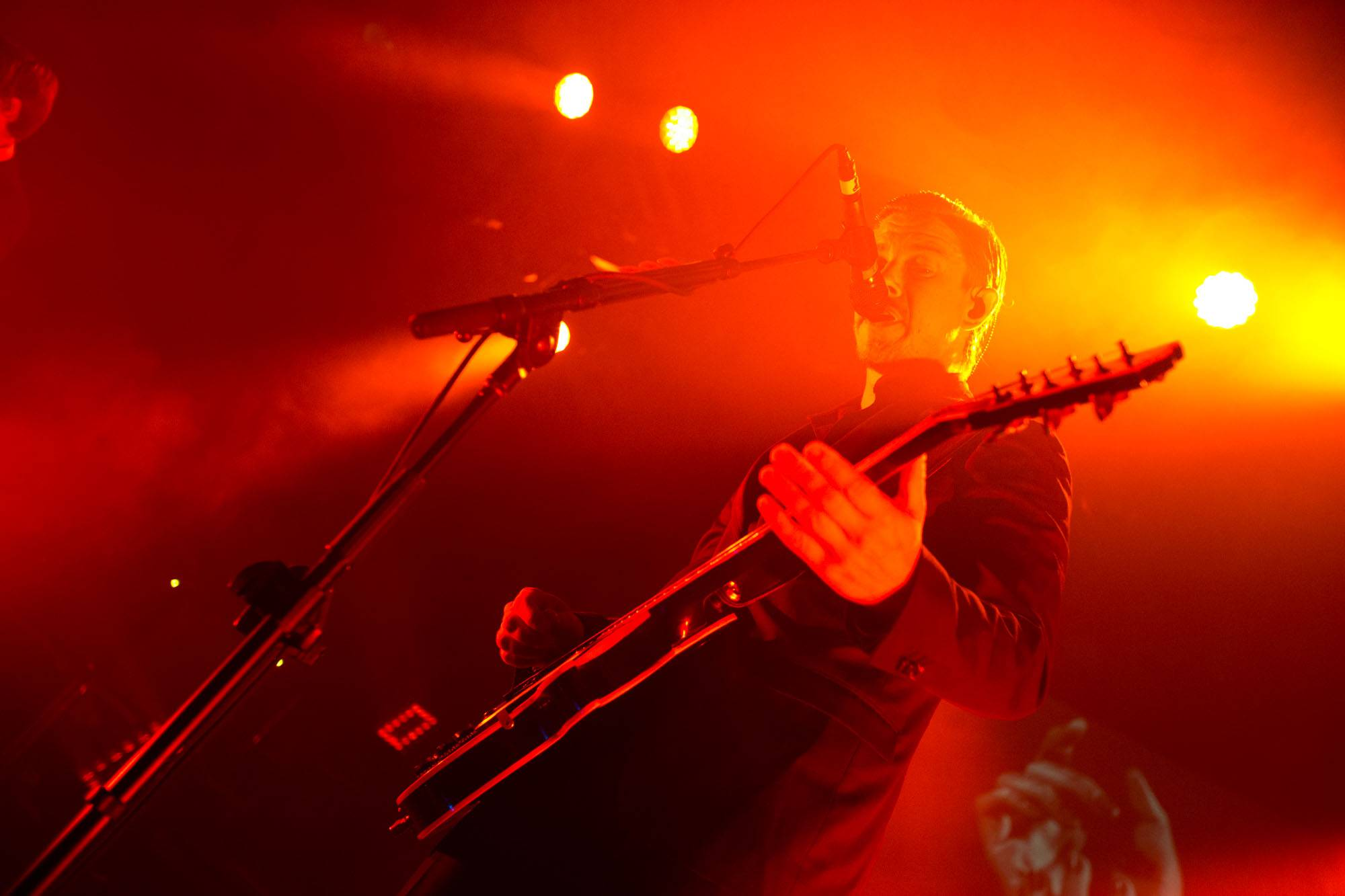 Interpol at the Commodore Ballroom, Vancouver, Sept. 15 2014. Kirk Chantraine photo.