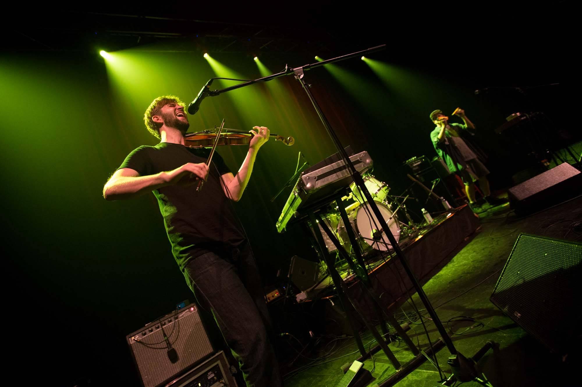 Owen Pallett at the Imperial Theatre, Vancouver, Sept. 9 2014. Kirk Chantraine photo.