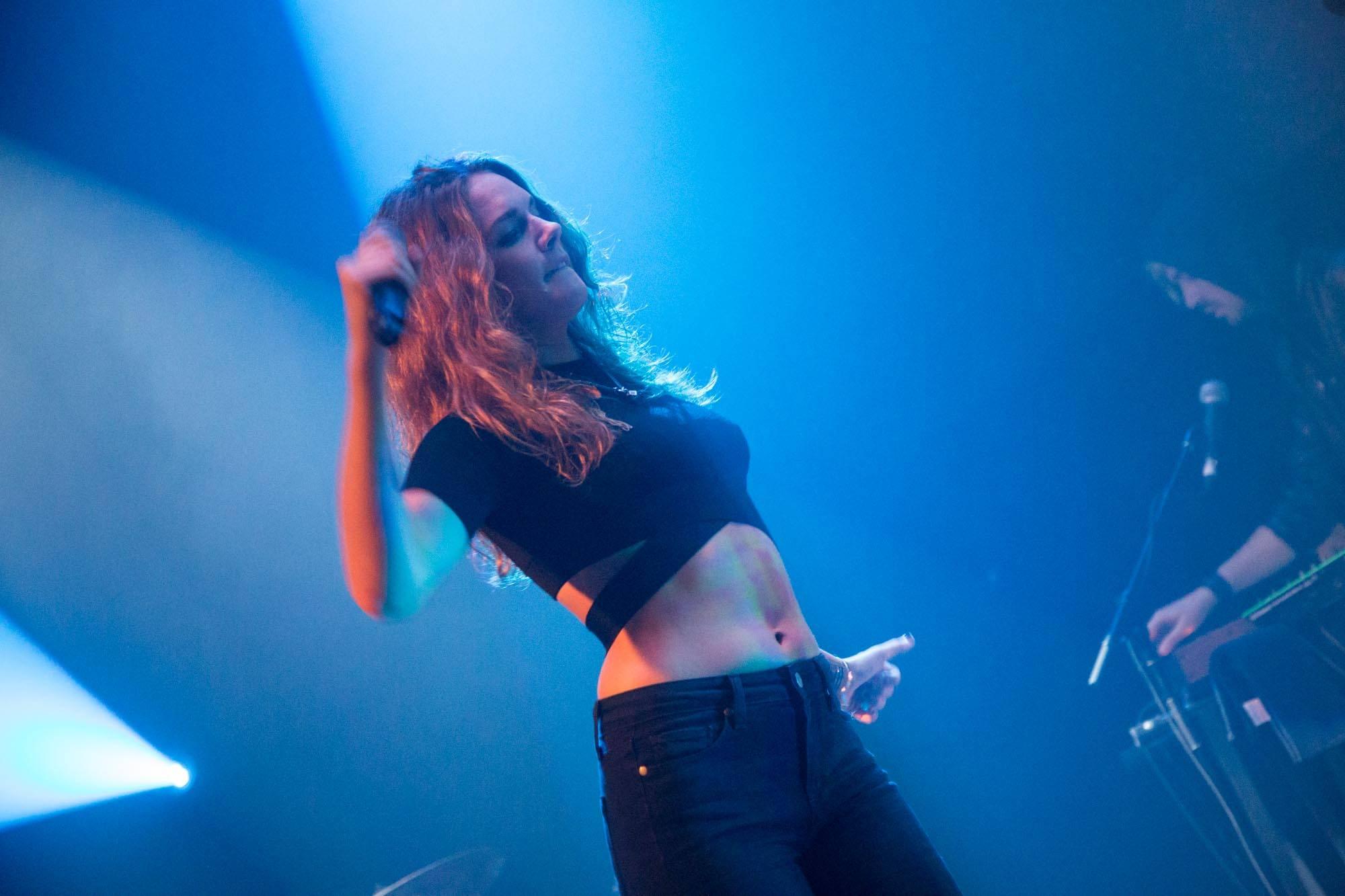 Tove Lo at Venue, Vancouver, Sept. 27 2014