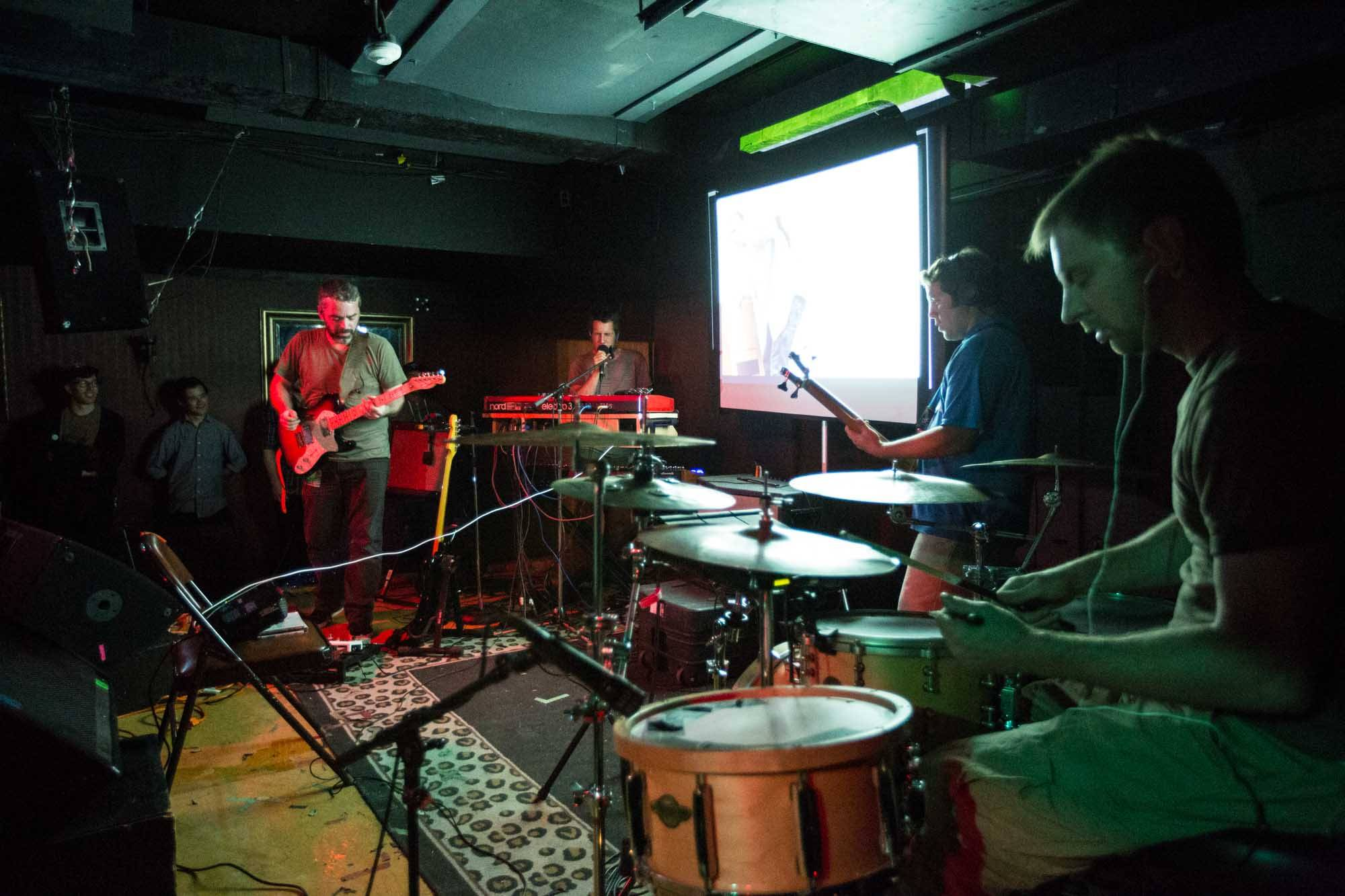 Zammuto at the Media Club, Vancouver, Sept. 16 2014. Kirk Chantraine photo.