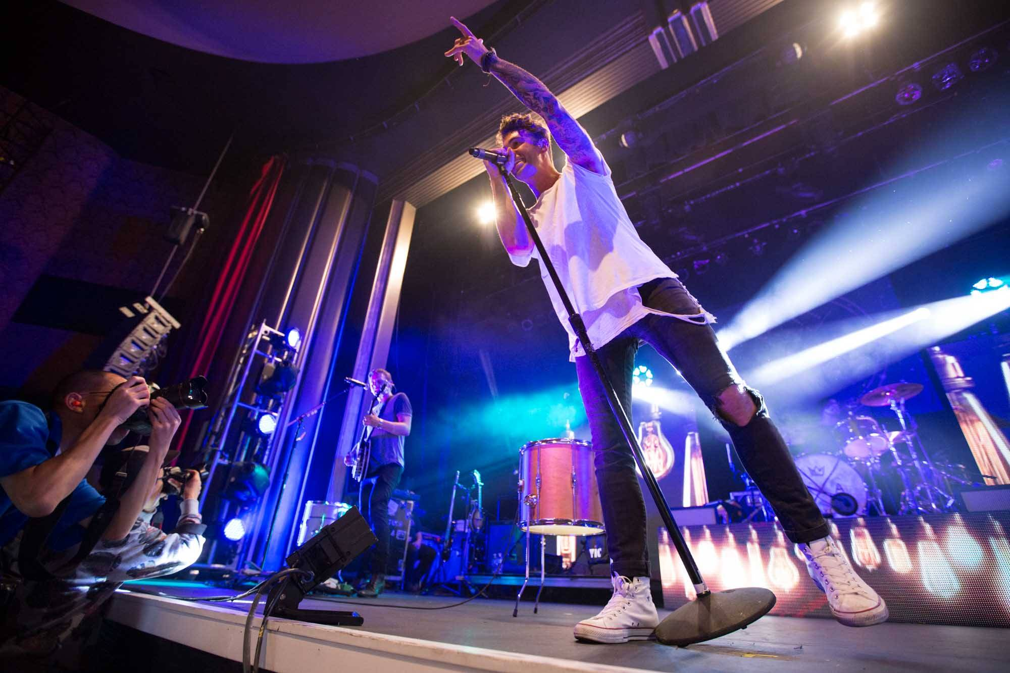 American Authors at the Vogue Theatre, Vancouver, Oct. 8 2014. Kirk Chantraine photo.