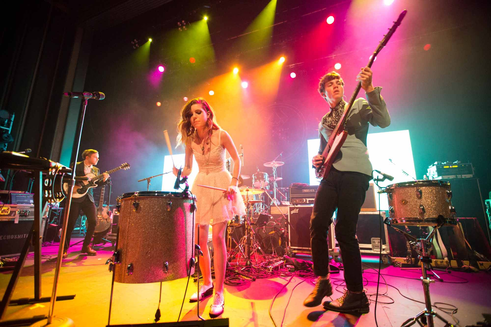 Echosmith at the Vogue Theatre, Vancouver, Oct. 8 2014. Kirk Chantraine photo.