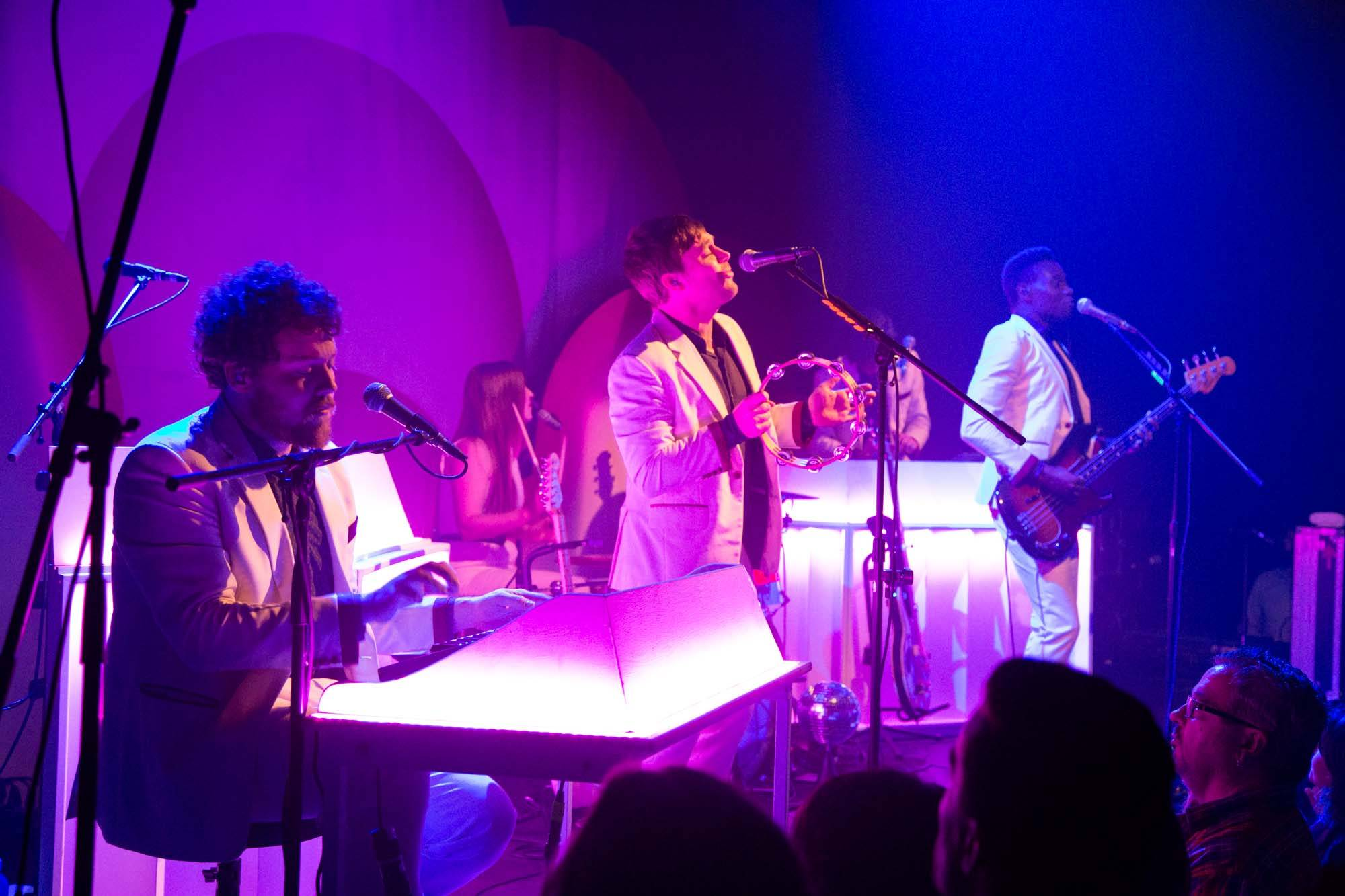 Metronomy at the Imperial Theatre, Vancouver, Oct. 26 2014. Kirk Chantraine photos.