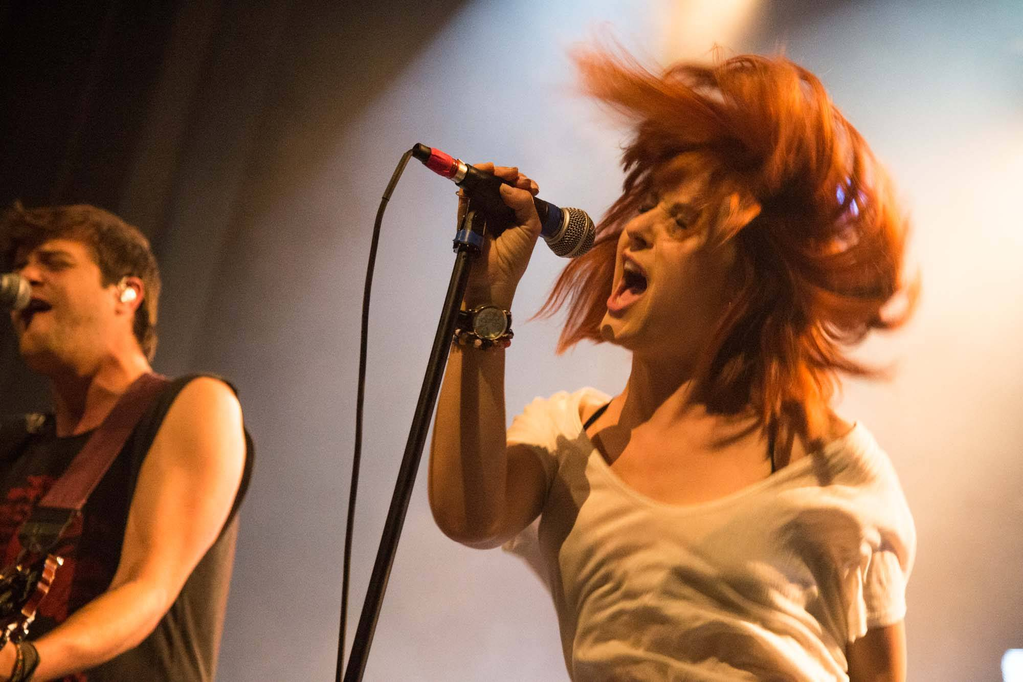 The Mowgli's at the Vogue Theatre, Vancouver, Oct. 8 2014. Kirk Chantraine Photo.