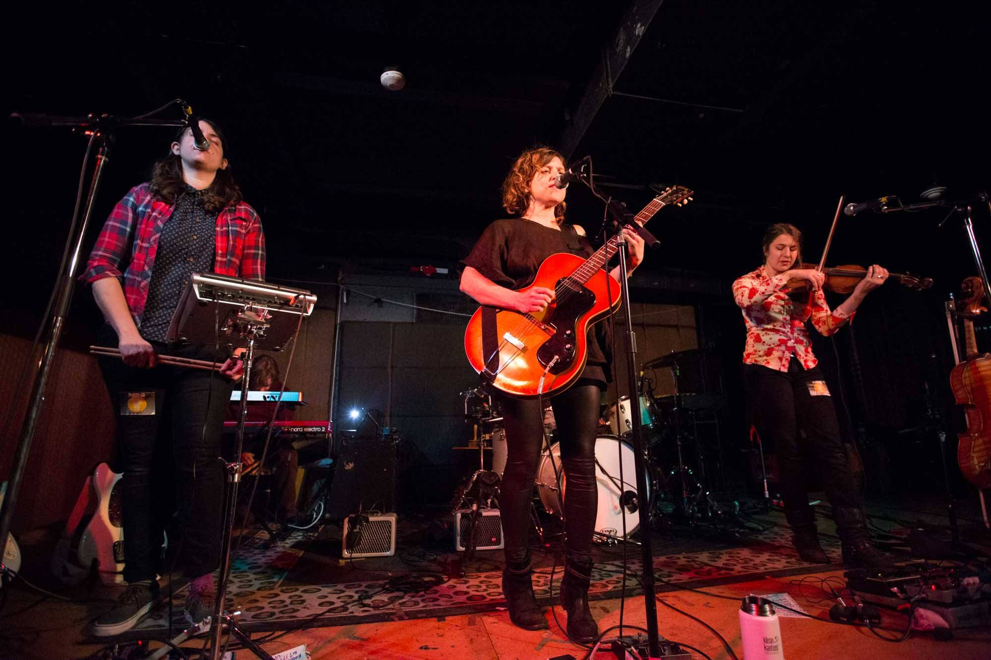 Mirah at the Media Club, Vancouver, Nov. 15 2014. Kirk Chantraine photo.