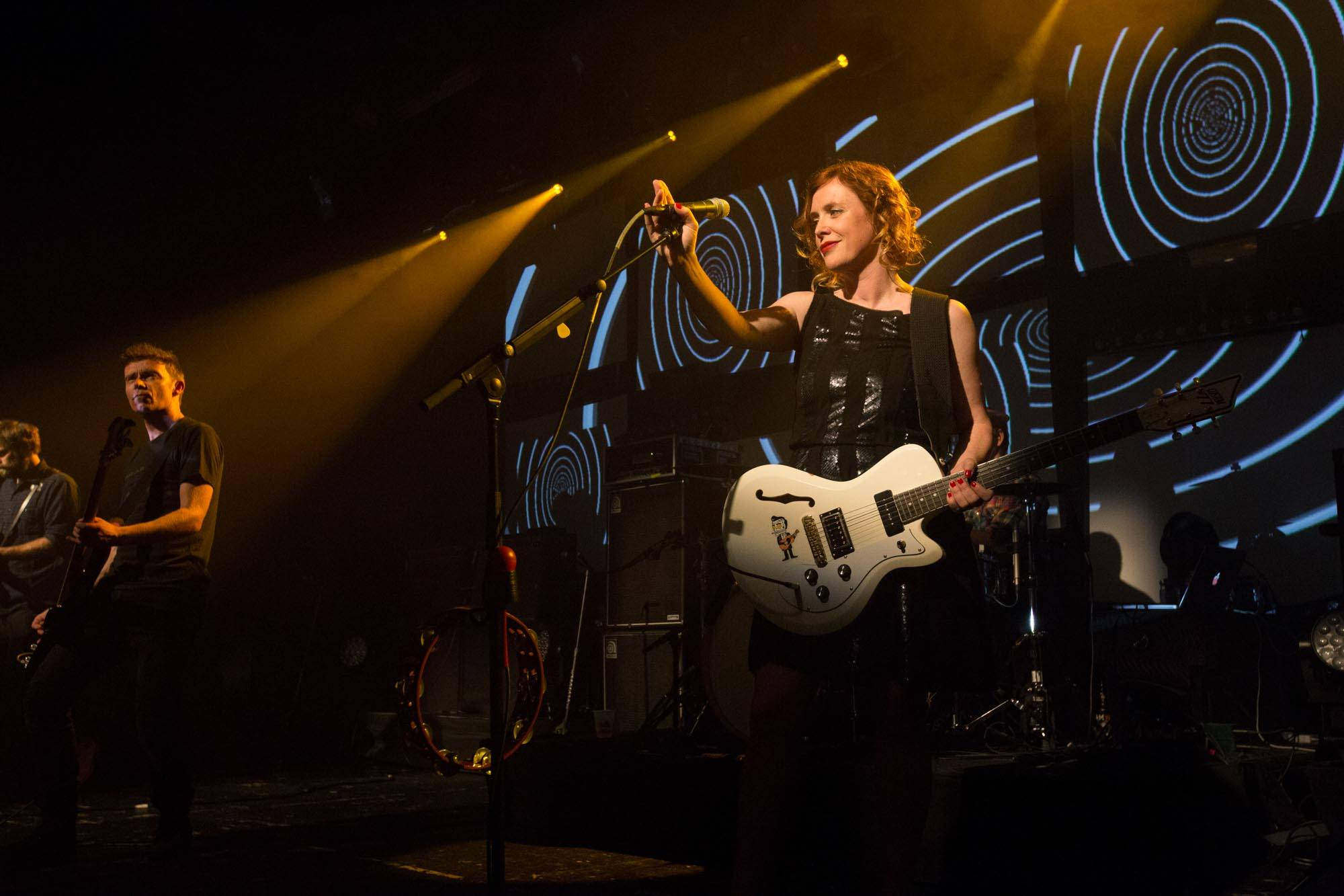 Slowdive at the Commodore Ballroom, Vancouver, Nov 3 2014. Kirk Chantraine photo.