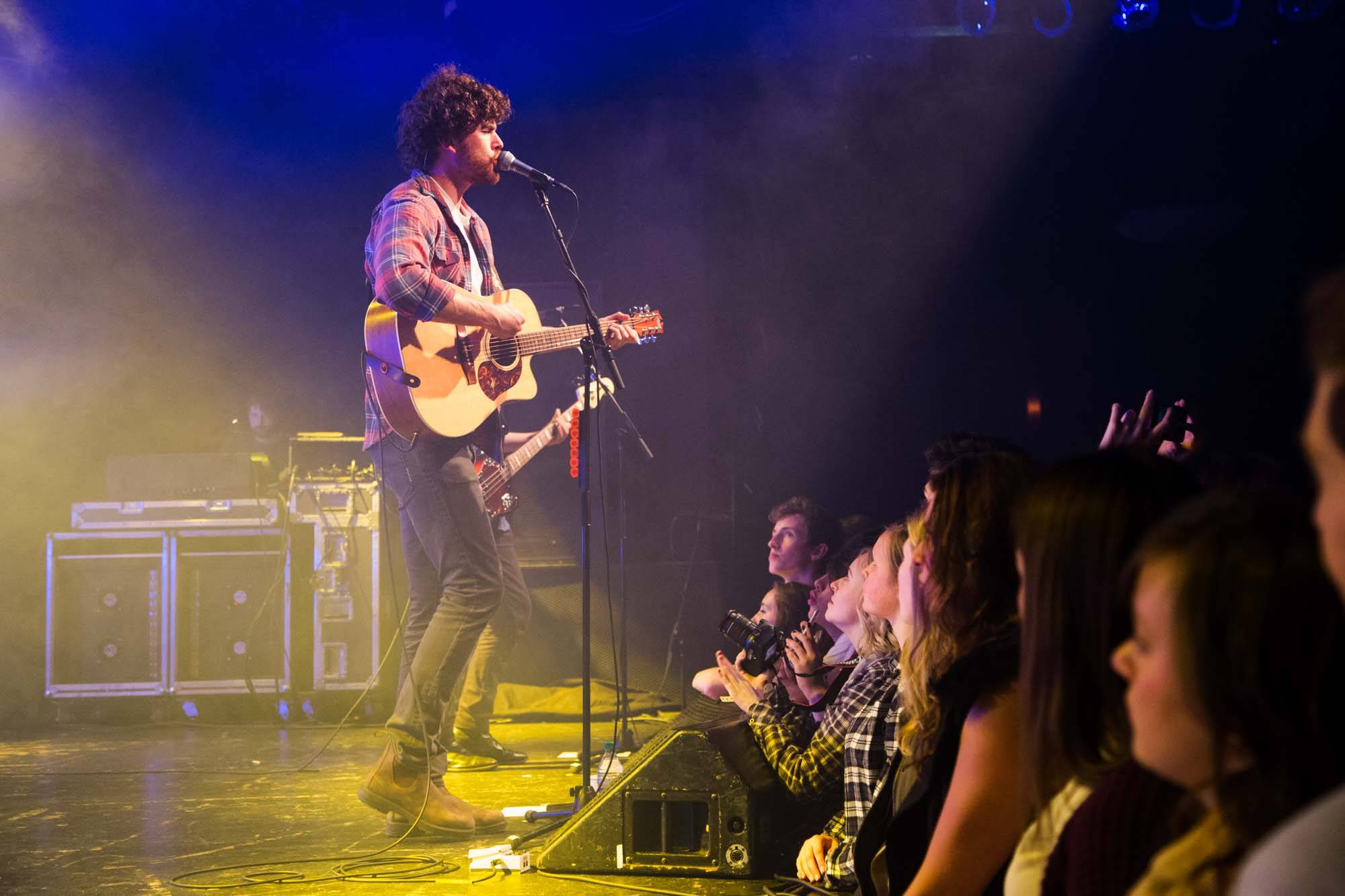 Vance Joy at the Commodore Ballroom, Vancouver, Nov. 16 2014. Kirk Chantraine photo.