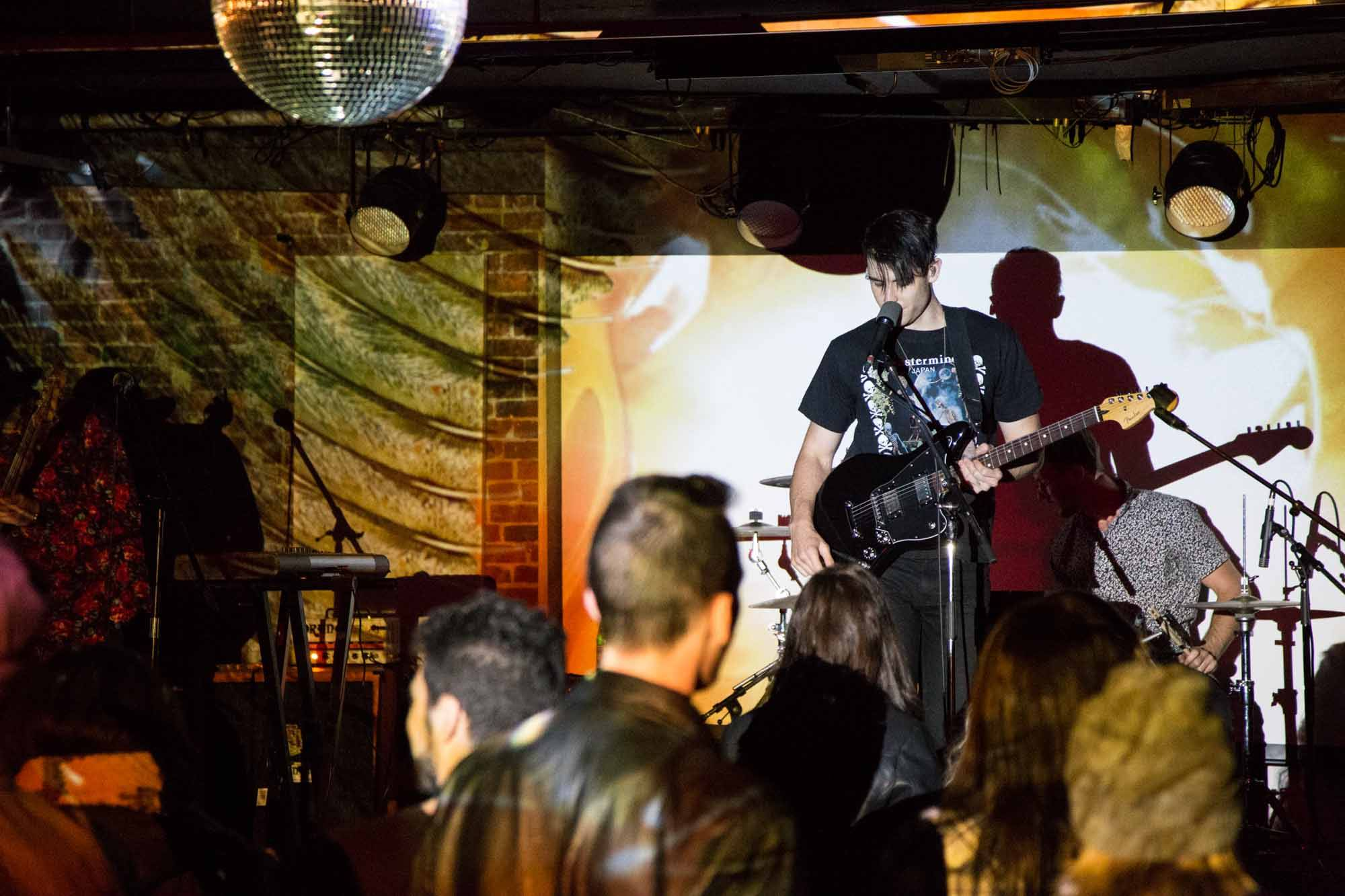 White Arrows at The Electric Owl Social Club, Vancouver, Nov. 11 2014. Kirk Chantraine photo.