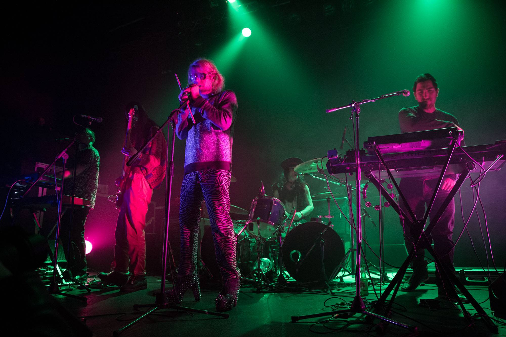 Ariel Pink at the Rickshaw Theatre, Vancouver, Feb. 11, 2015. Kirk Chantraine photo.