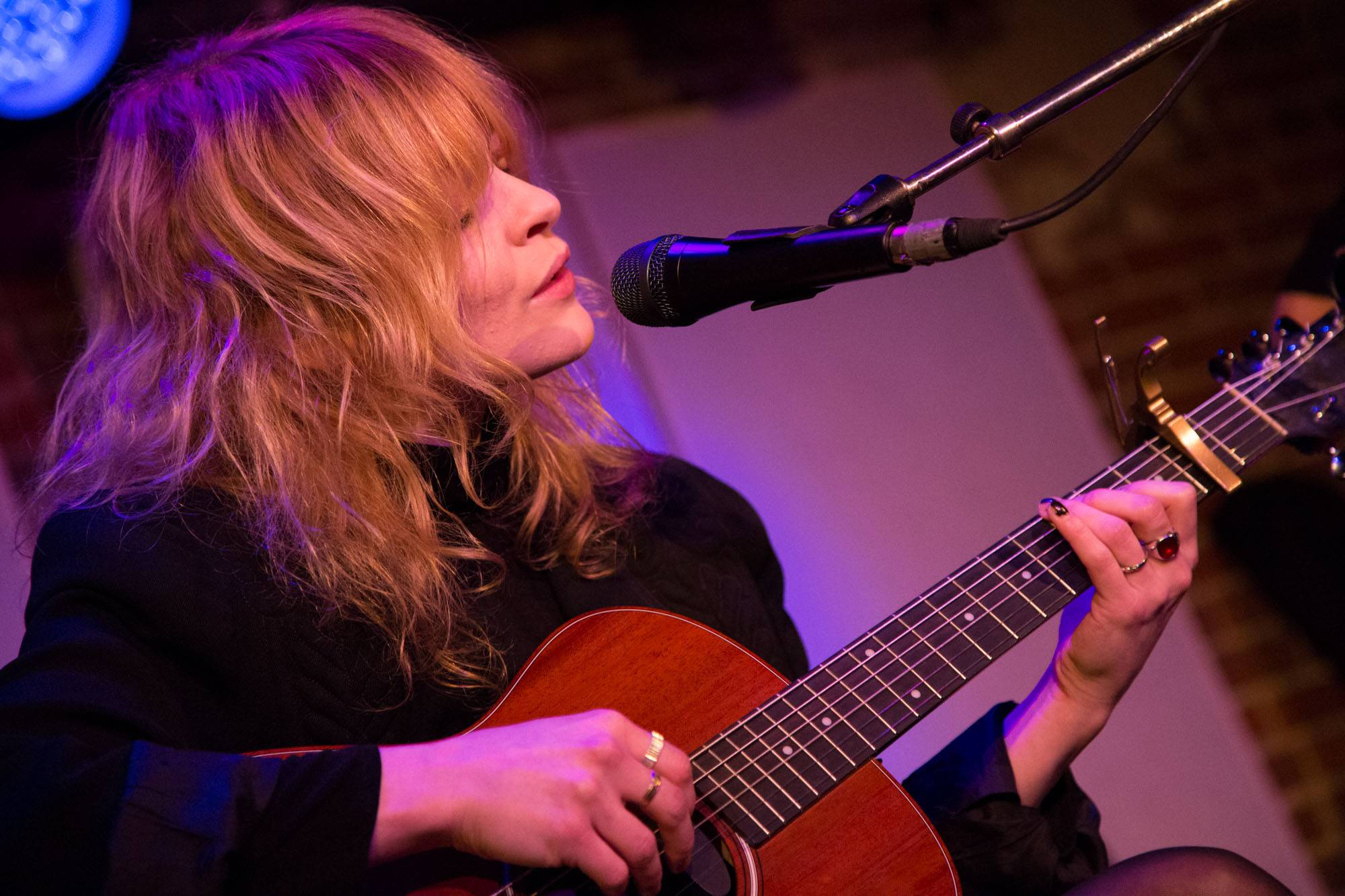 Jessica Pratt at the Electric Owl, Vancouver, Feb. 21 2015. Kirk Chantraine photo.