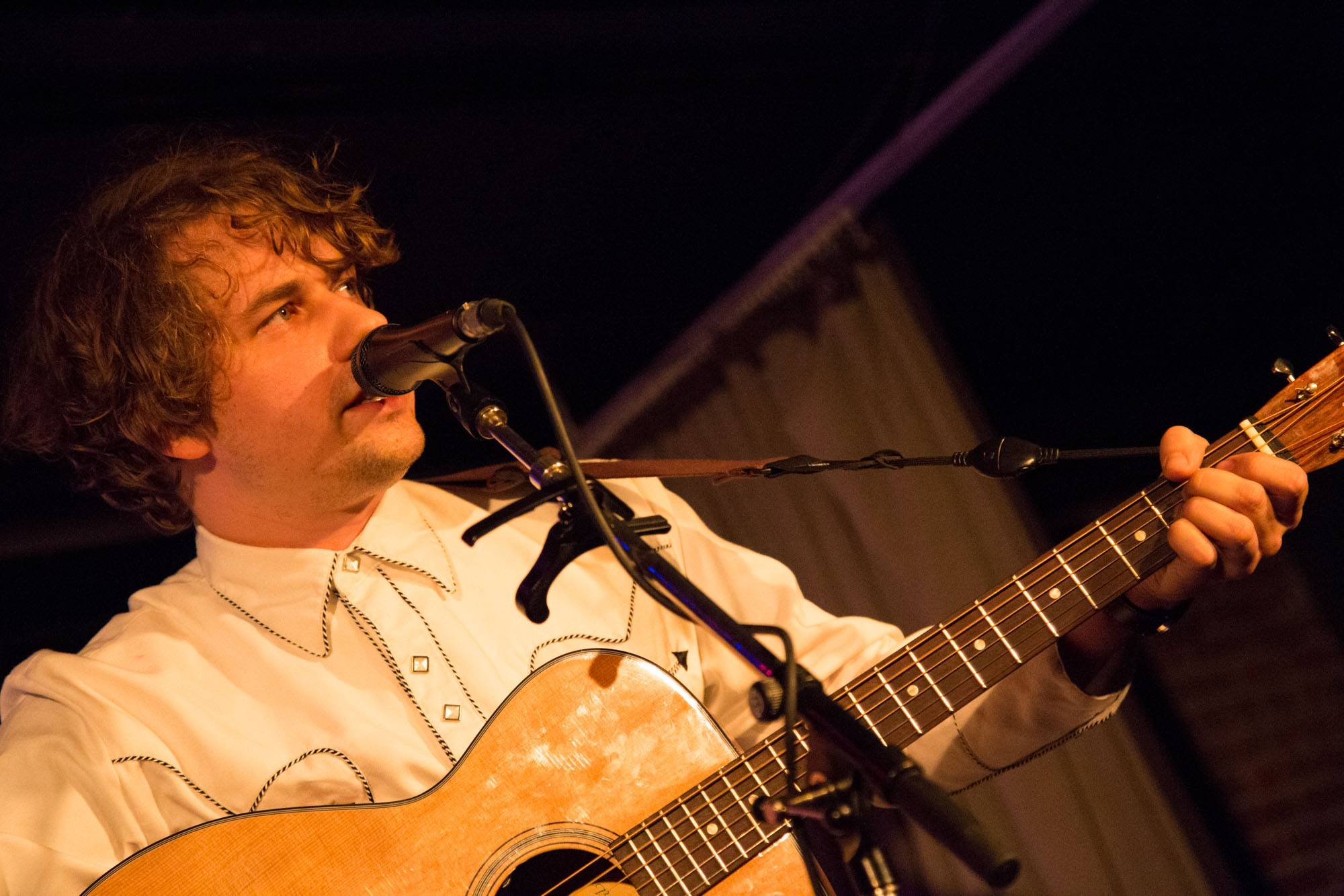 Kevin Morby at the Electric Owl, Vancouver, Feb. 21 2015. Kirk Chantraine photo.
