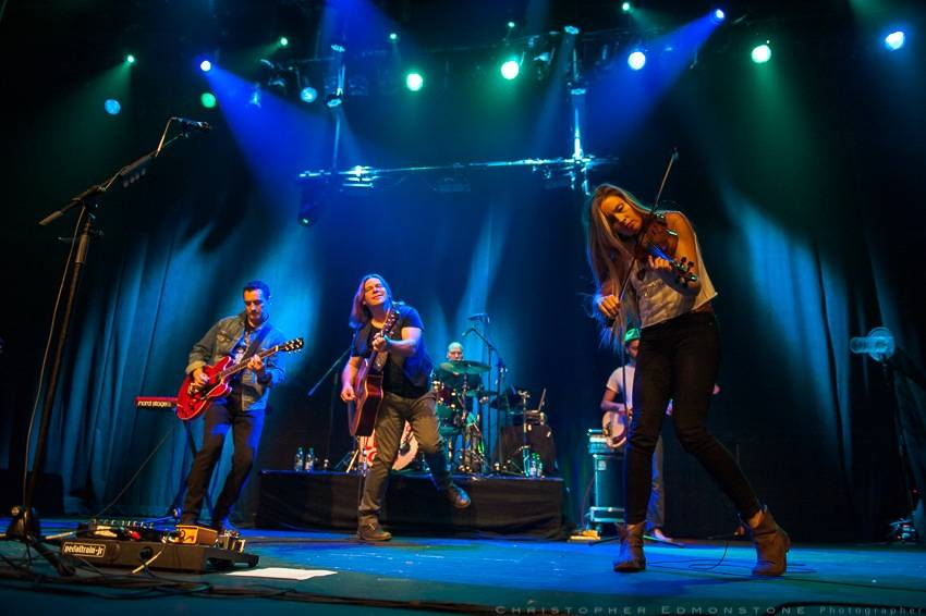 Alan Doyle at the Vogue Theatre, Vancouver,