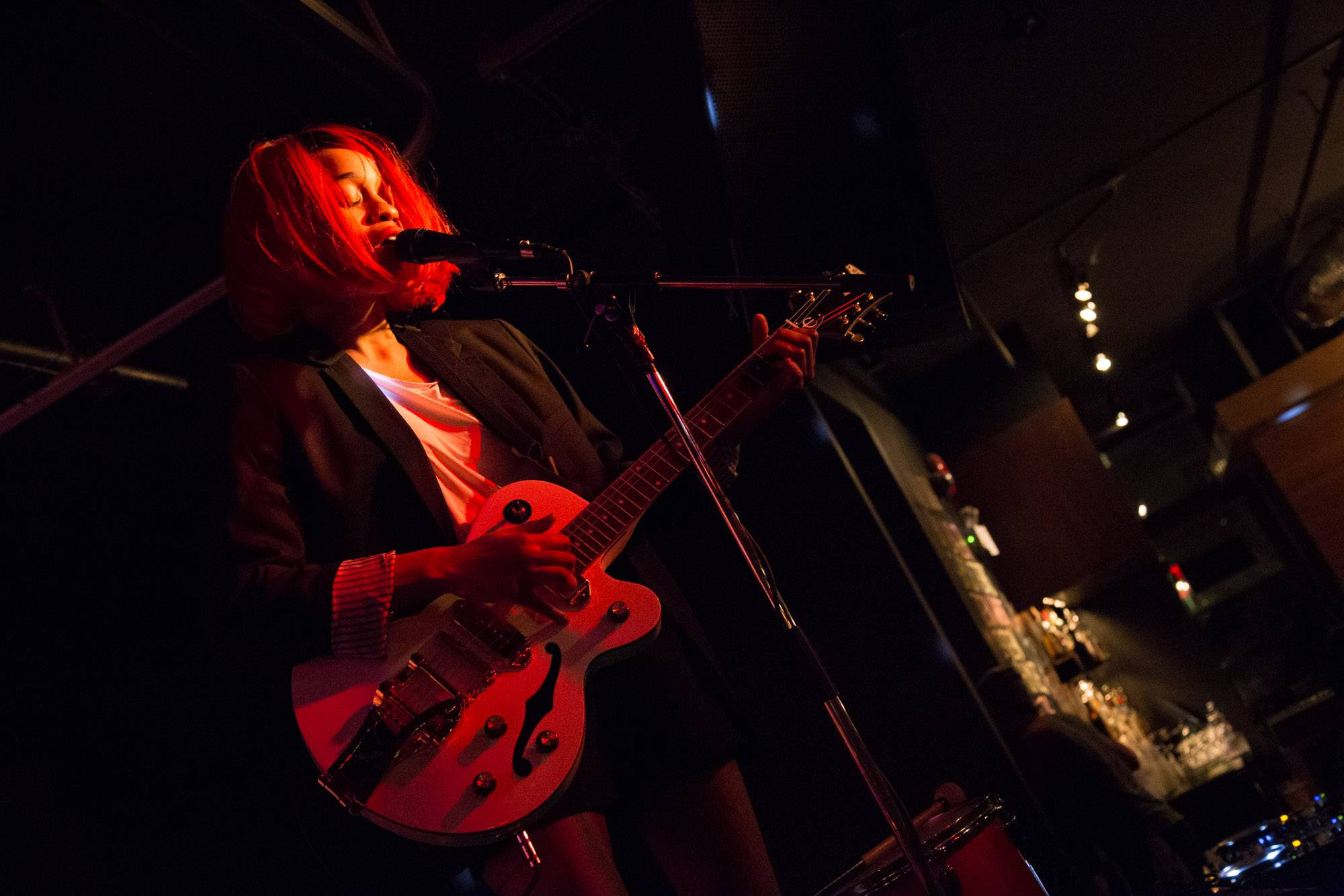 Adia Victoria at the Electric Owl, Vancouver, Mar. 21 2015. Kirk Chantraine photo.