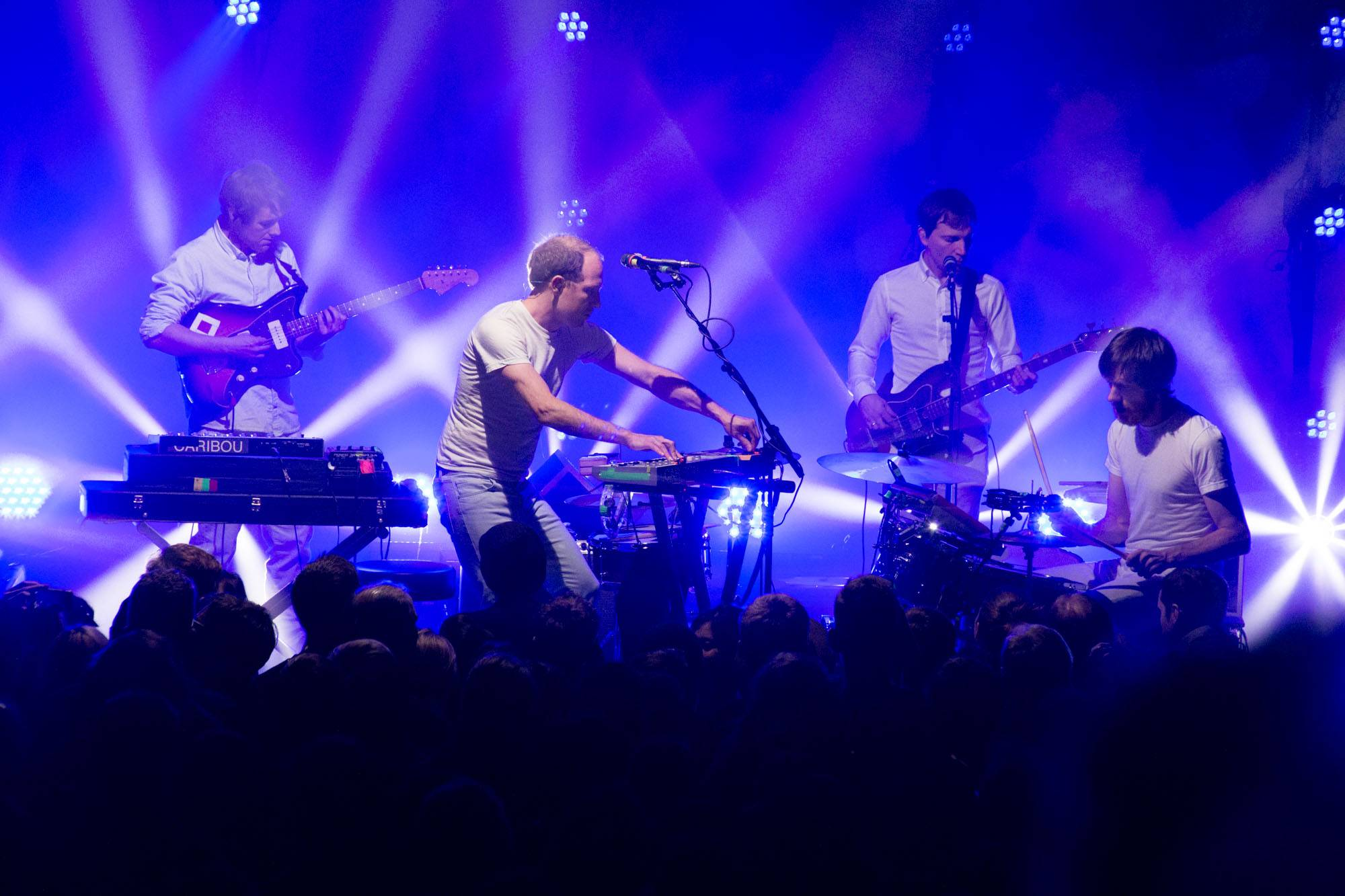 Caribou at the Commodore Ballroom, Vancouver, Mar. 5 2015. Kirk Chantraine photo.