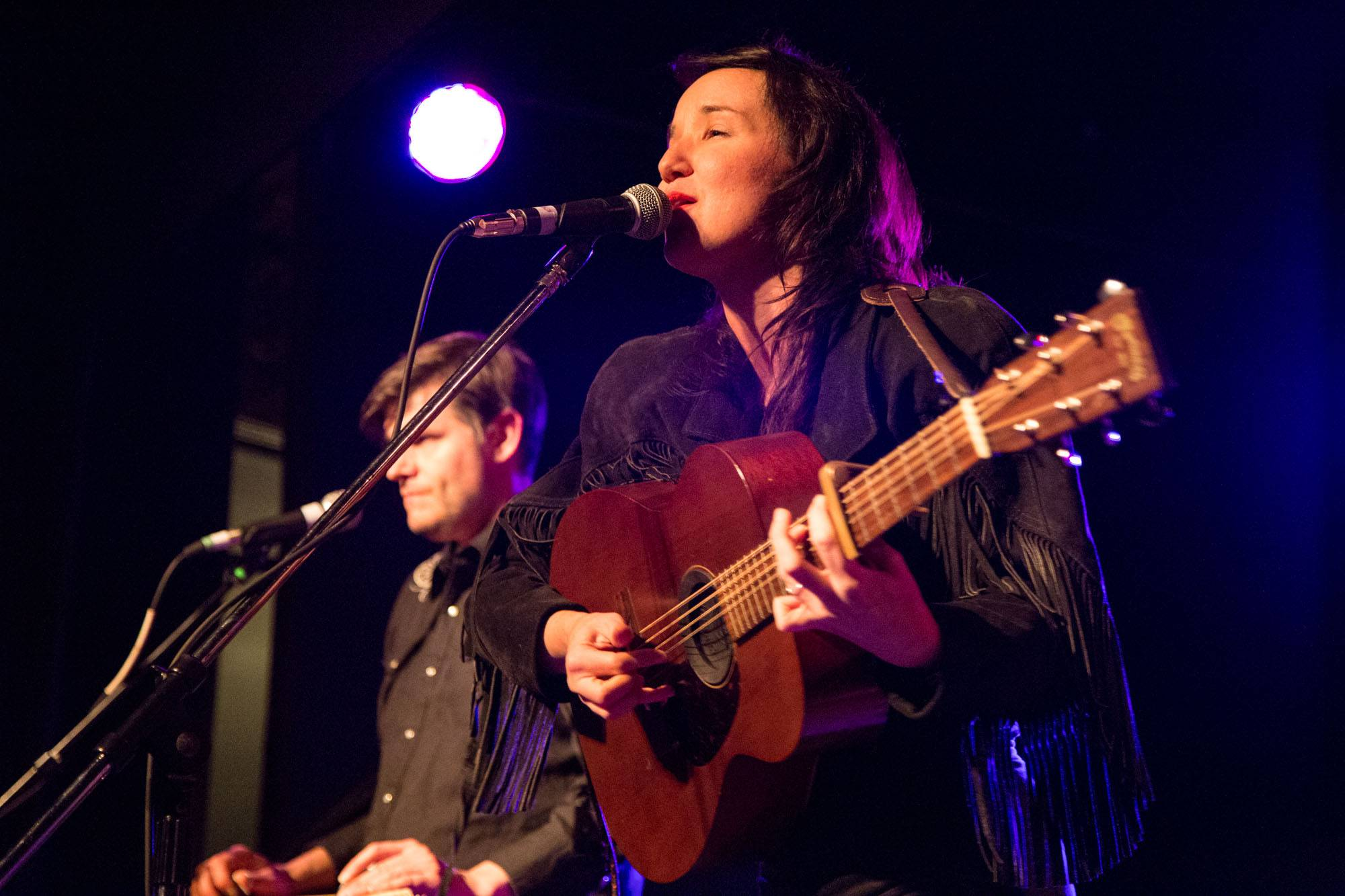 Sarah MacDougall at the Wise Hall, Vancouver, Mar. 29 2015. Kirk Chantraine photo.
