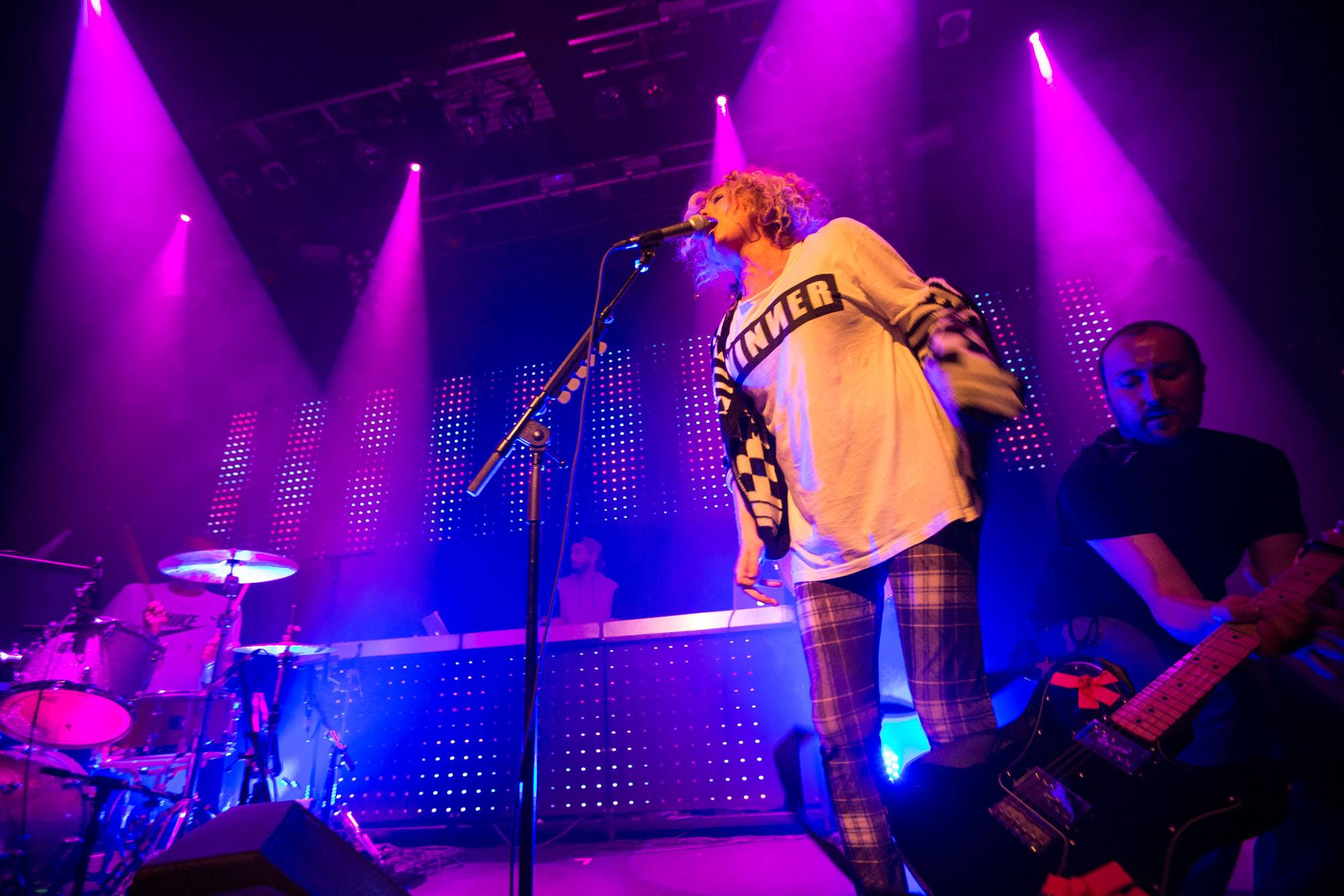 The Ting Tings at Venue, Vancouver, Mar. 28 2015. Kirk Chantraine photo.