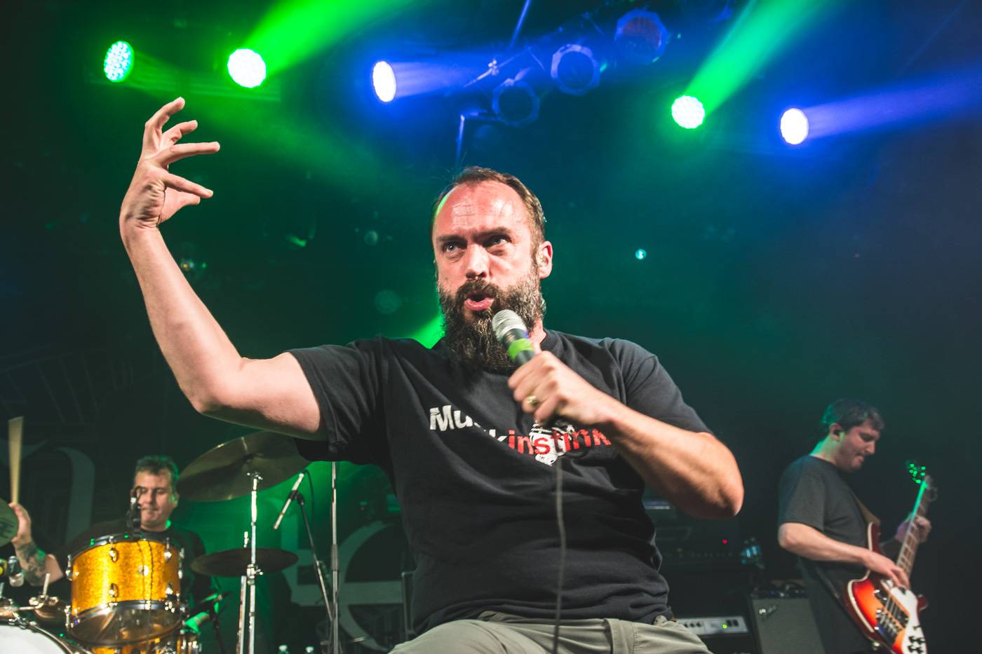 Clutch at the Commodore Ballroom, Vancouver, Apr. 23 2015. Pavel Boiko photo.