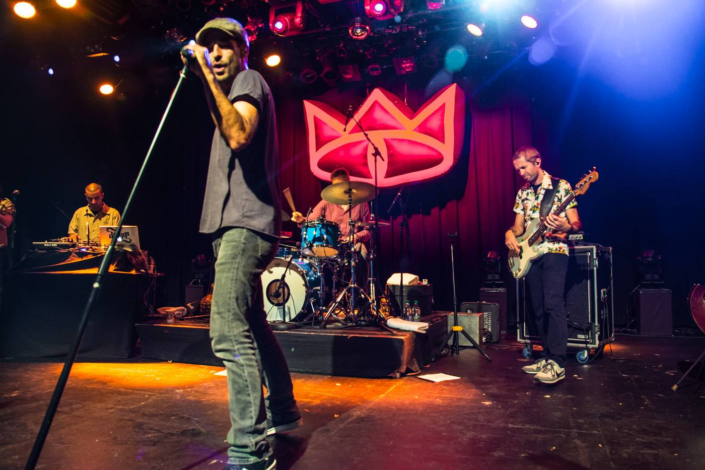 Cat Empire at the Commodore Ballroom, Vancouver, Apr. 3 2015. Pavel Boiko photo.