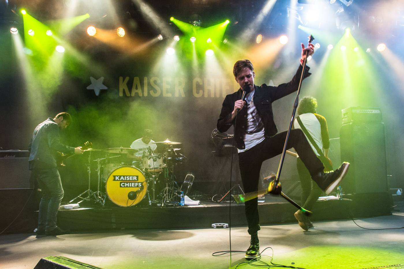 Kaiser Chiefs at the Commodore Ballroom, Vancouver, Apr. 21 2015. Pavel Boiko photo.