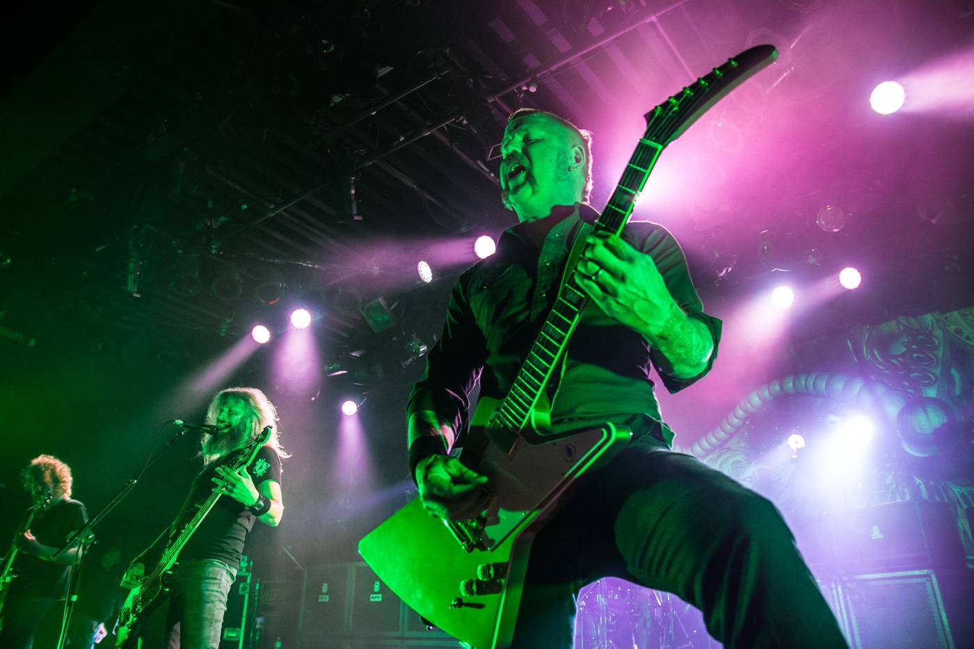 Mastodon at the Commodore Ballroom, Vancouver, Apr. 23 2015. Pavel Boiko photo.