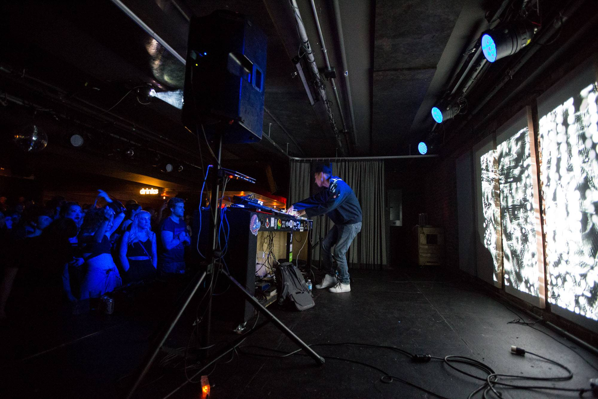 Nosaj Thing at the Electric Owl, Vancouver, Apr. 24 2015. Kirk Chantraine photo.