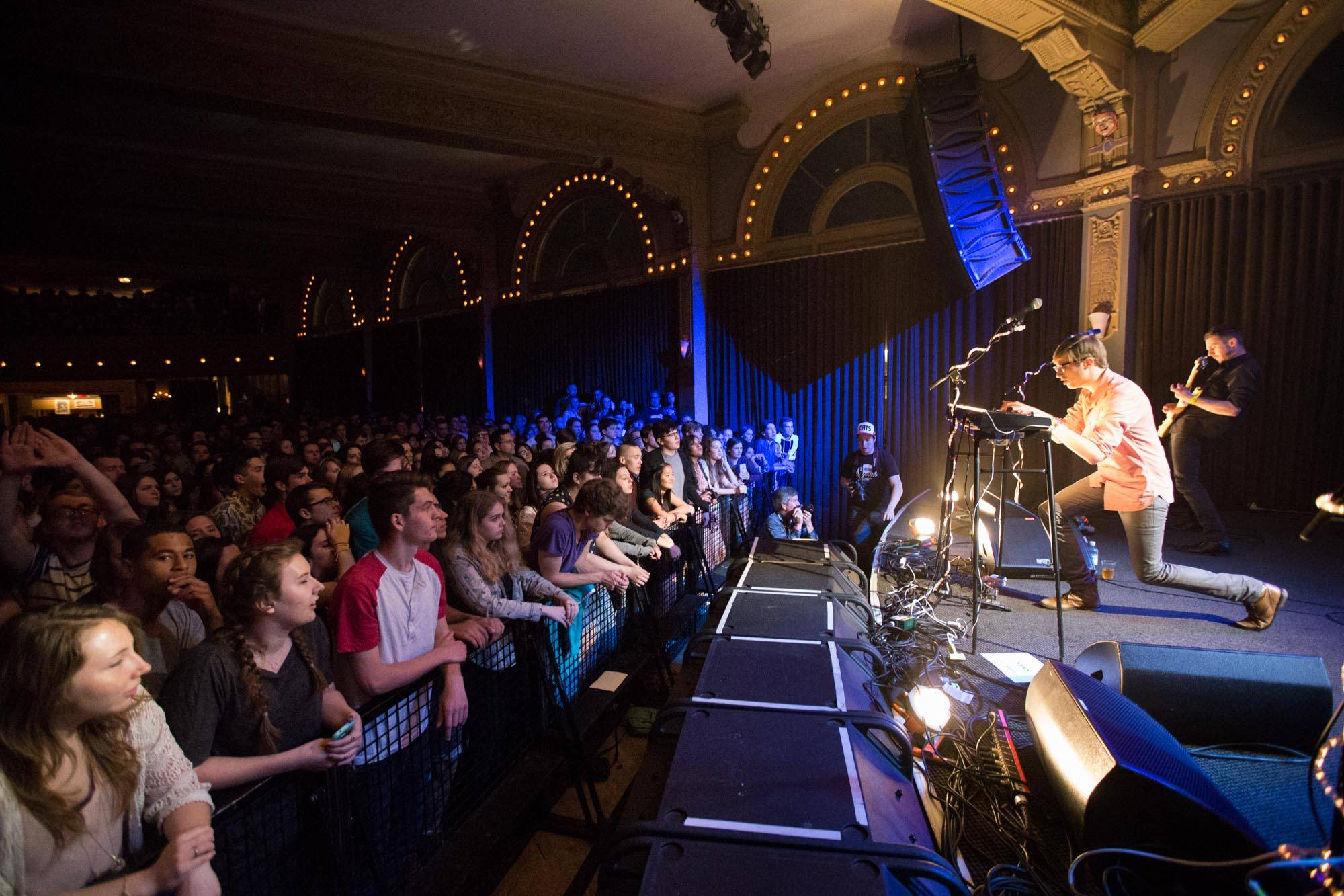 Saint Motel at the Crystal Ballroom, Portland, Apr. 4 2015. Kirk Chantraine photo.