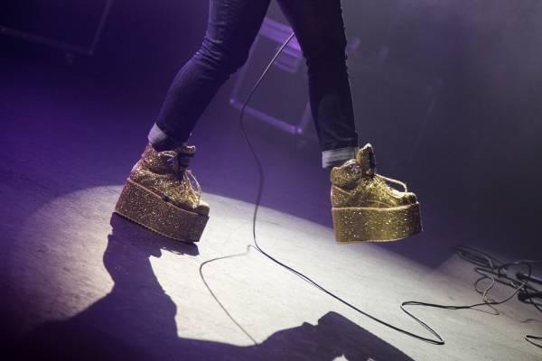 Amelia Meath's shoes